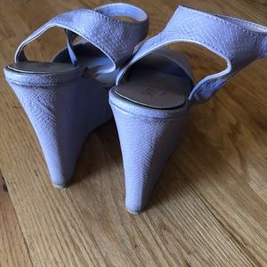 Nasty Gal Shoes - Shoe Cult by Nasty Gal Lavender Platform Wedges